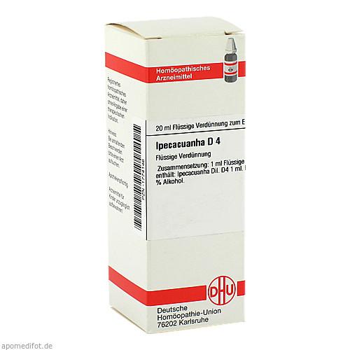 IPECACUANHA D 4, 20 ML, Dhu-Arzneimittel GmbH & Co. KG