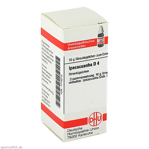 IPECACUANHA D 4, 10 G, Dhu-Arzneimittel GmbH & Co. KG