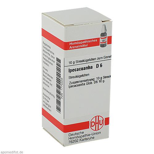 IPECACUANHA D 6, 10 G, Dhu-Arzneimittel GmbH & Co. KG