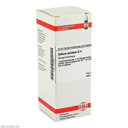 KALIUM JODAT D 4, 50 ML, Dhu-Arzneimittel GmbH & Co. KG