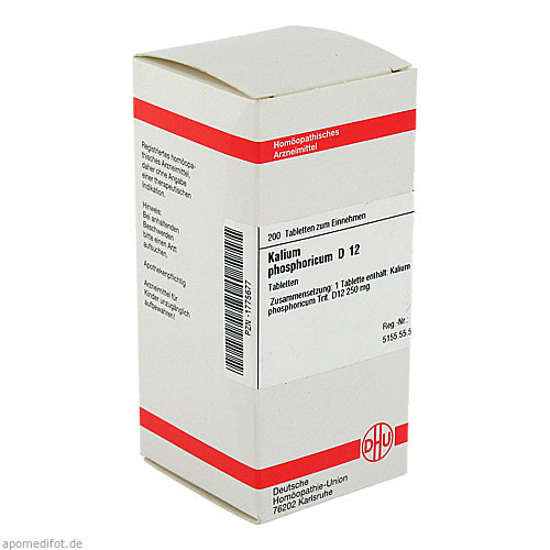 KALIUM PHOS D12, 200 ST, Dhu-Arzneimittel GmbH & Co. KG