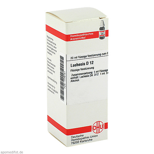 LACHESIS D12, 20 ML, Dhu-Arzneimittel GmbH & Co. KG