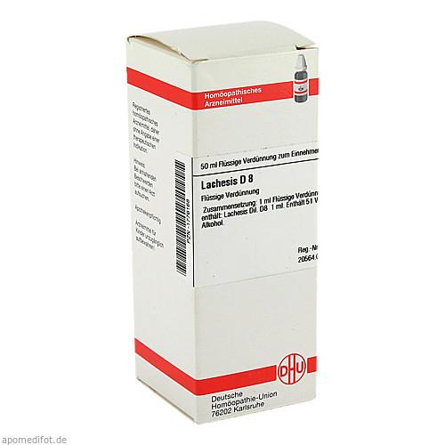 LACHESIS D 8, 50 ML, Dhu-Arzneimittel GmbH & Co. KG