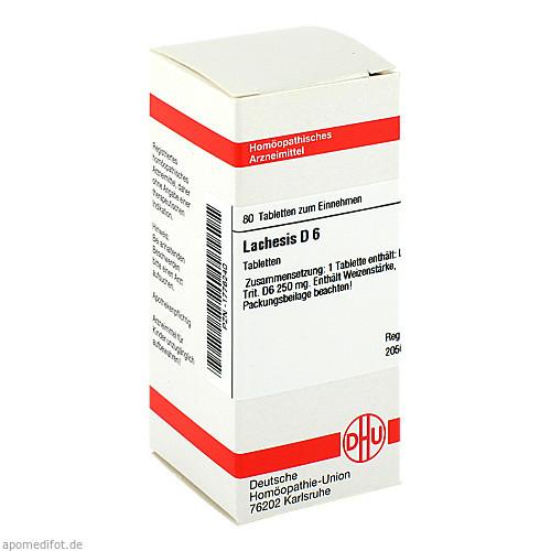 LACHESIS D 6, 80 ST, Dhu-Arzneimittel GmbH & Co. KG