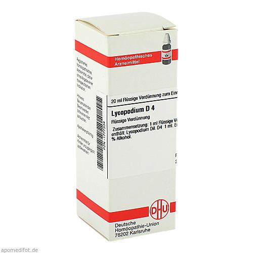 LYCOPODIUM D 4, 20 ML, Dhu-Arzneimittel GmbH & Co. KG