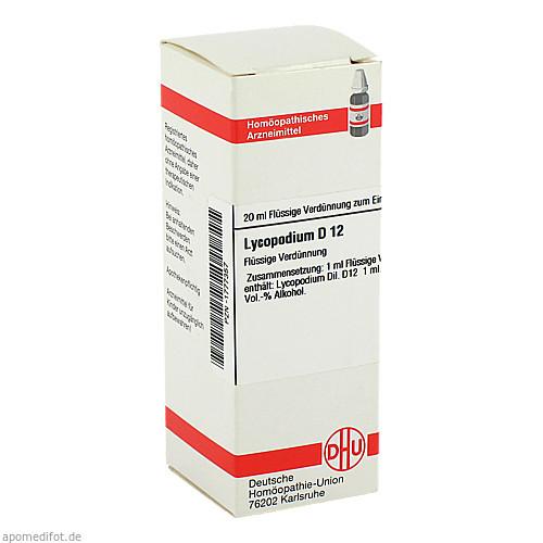 LYCOPODIUM D12, 20 ML, Dhu-Arzneimittel GmbH & Co. KG
