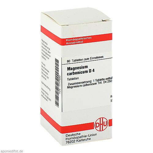 MAGNESIUM CARB D 4, 80 ST, Dhu-Arzneimittel GmbH & Co. KG