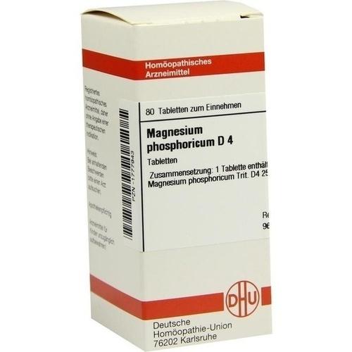 MAGNESIUM PHOS D 4, 80 ST, Dhu-Arzneimittel GmbH & Co. KG