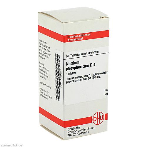 NATRIUM PHOS D 4, 80 ST, Dhu-Arzneimittel GmbH & Co. KG