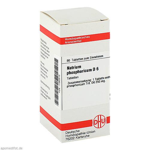 NATRIUM PHOS D 6, 80 ST, Dhu-Arzneimittel GmbH & Co. KG