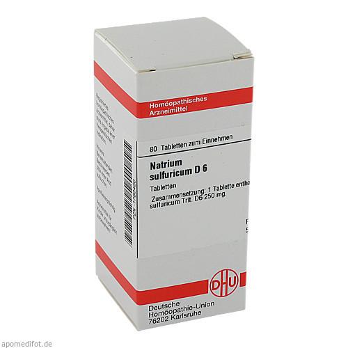 NATRIUM SULF D 6, 80 ST, Dhu-Arzneimittel GmbH & Co. KG
