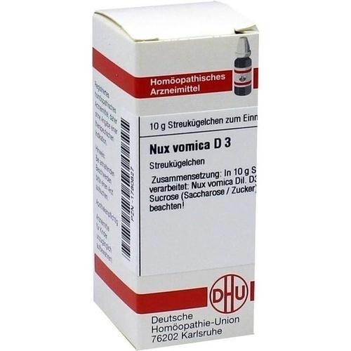 NUX VOMICA D 3, 10 G, Dhu-Arzneimittel GmbH & Co. KG