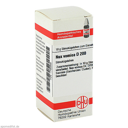 NUX VOMICA D200, 10 G, Dhu-Arzneimittel GmbH & Co. KG