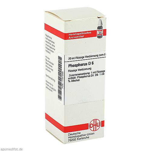 PHOSPHORUS D 6, 20 ML, Dhu-Arzneimittel GmbH & Co. KG