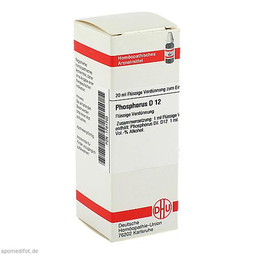 PHOSPHORUS D12, 20 ML, Dhu-Arzneimittel GmbH & Co. KG