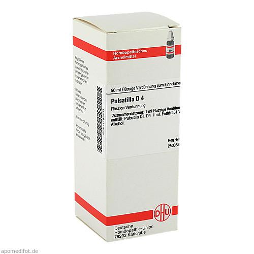 PULSATILLA D 4, 50 ML, Dhu-Arzneimittel GmbH & Co. KG