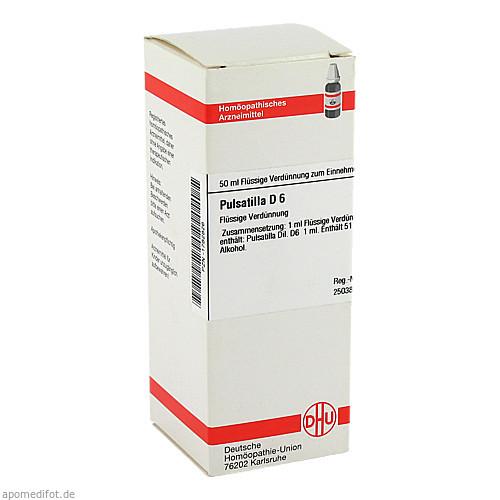 PULSATILLA D 6, 50 ML, Dhu-Arzneimittel GmbH & Co. KG
