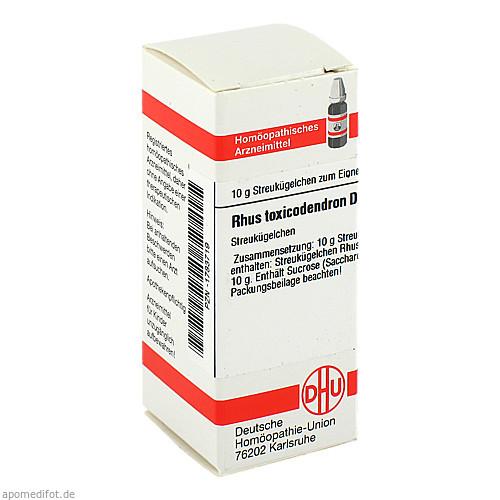 RHUS TOX D 4, 10 G, Dhu-Arzneimittel GmbH & Co. KG