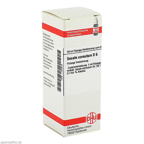 SECALE CORNUT D 6, 20 ML, Dhu-Arzneimittel GmbH & Co. KG