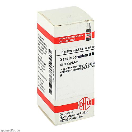 SECALE CORNUT D 6, 10 G, Dhu-Arzneimittel GmbH & Co. KG