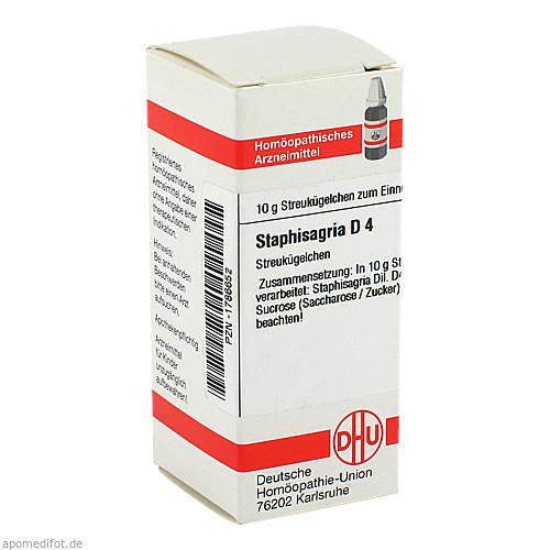 STAPHISAGRIA D 4, 10 G, Dhu-Arzneimittel GmbH & Co. KG