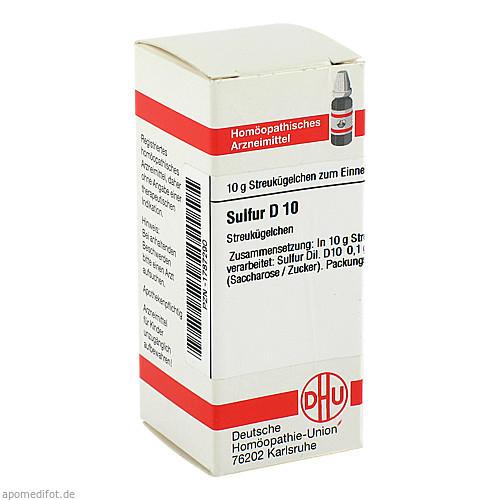 SULFUR D10, 10 G, Dhu-Arzneimittel GmbH & Co. KG