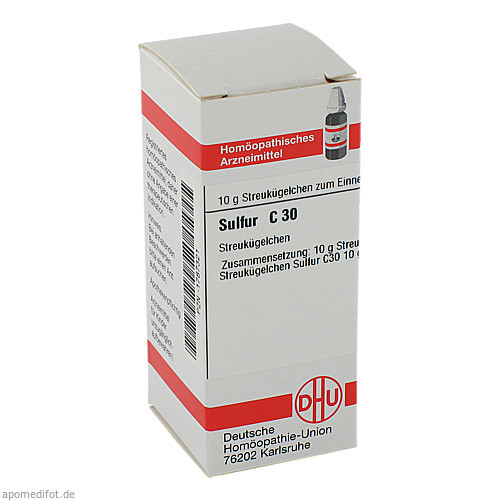 SULFUR C30, 10 G, Dhu-Arzneimittel GmbH & Co. KG