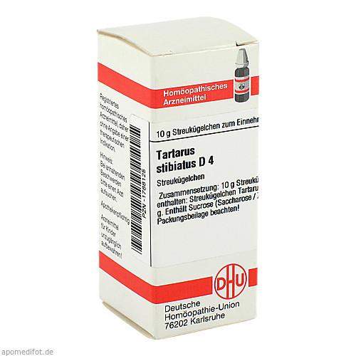 TARTARUS STIBIATUS D 4, 10 G, Dhu-Arzneimittel GmbH & Co. KG