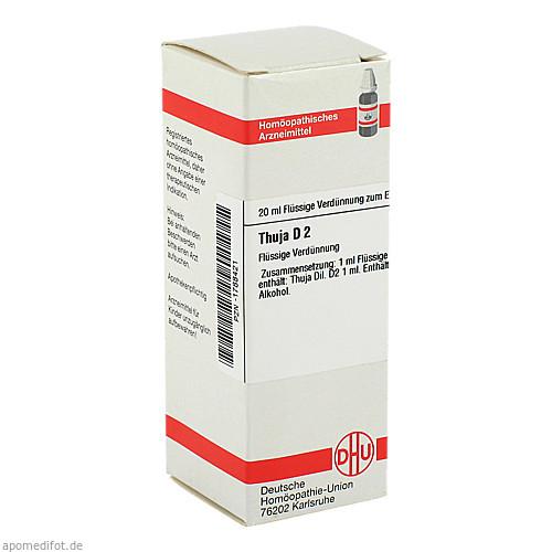 THUJA D 2, 20 ML, Dhu-Arzneimittel GmbH & Co. KG