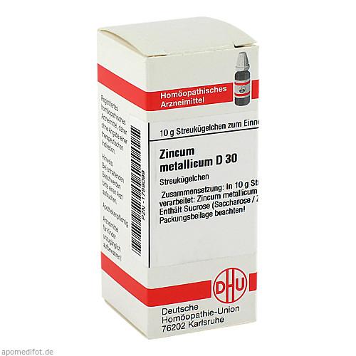 ZINCUM MET D30, 10 G, Dhu-Arzneimittel GmbH & Co. KG