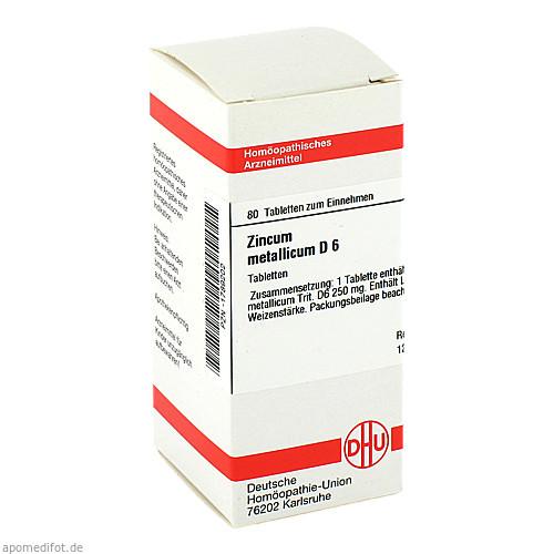 ZINCUM MET D 6, 80 ST, Dhu-Arzneimittel GmbH & Co. KG
