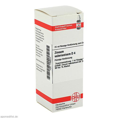 ZINCUM VALER D 4, 20 ML, Dhu-Arzneimittel GmbH & Co. KG