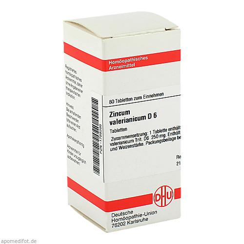 ZINCUM VALER D 6, 80 ST, Dhu-Arzneimittel GmbH & Co. KG