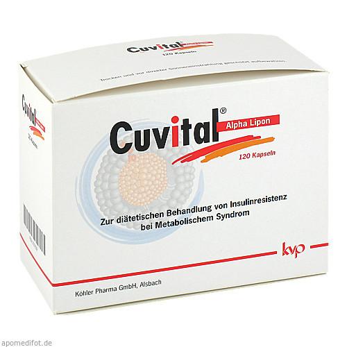 Cuvital Alpha Lipon, 120 ST, Köhler Pharma GmbH