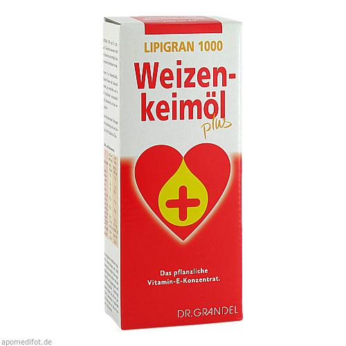 Weizenkeimöl Plus 1000 Lipigran Grandel, 250 ML, Dr. Grandel GmbH