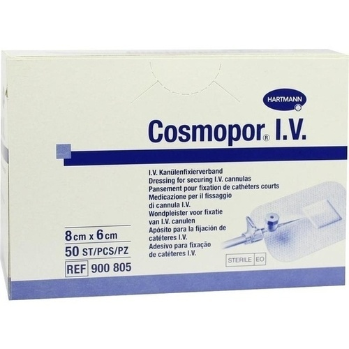 Cosmopor I.V. (Kanülenfixierverband), 50 ST, Paul Hartmann AG