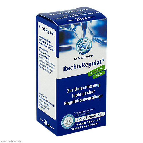 RECHTSREGULAT Bio flüssig, 20 ML, Dr.Niedermaier Pharma GmbH
