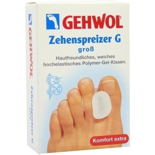 GEHWOL Polymer-Gel Zehenspreizer G groß, 3 ST, Eduard Gerlach GmbH