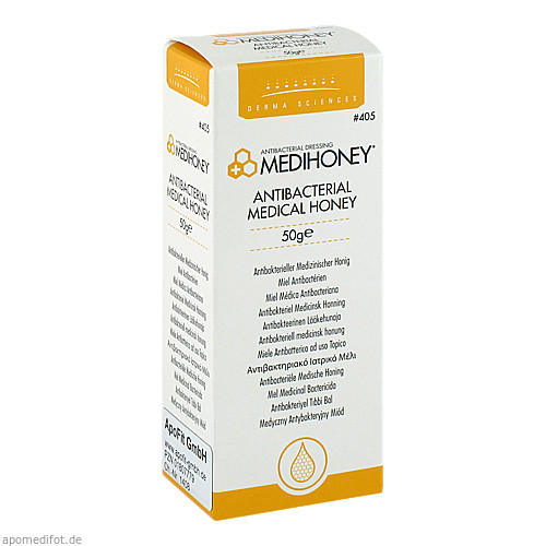 MEDIHONEY Antibakterieller Medizinischer Honig, 50 G, Apofit Arzneimittelvertrieb GmbH