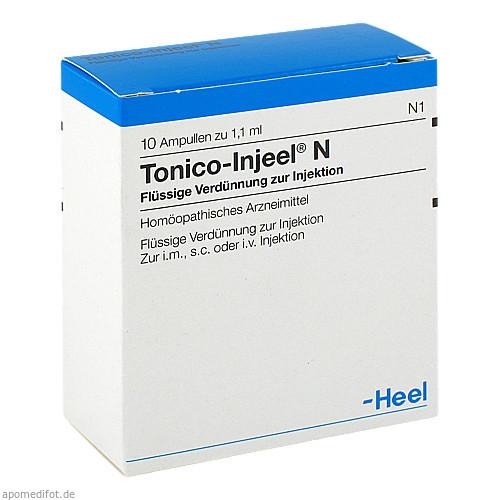Tonico-Injeel N, 10 ST, Biologische Heilmittel Heel GmbH