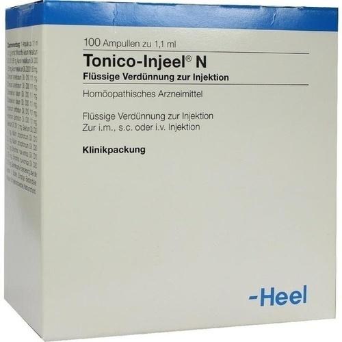 Tonico-Injeel N, 100 ST, Biologische Heilmittel Heel GmbH
