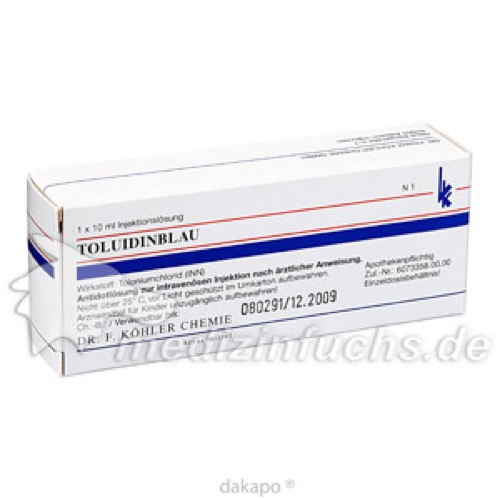 TOLUIDINBLAU, 10 ML, Dr. F. Köhler Chemie GmbH