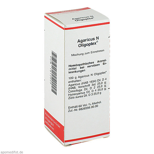 Agaricus N Oligoplex, 50 ML, Meda Pharma GmbH & Co. KG