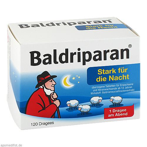 Baldriparan Stark für die Nacht, 120 ST, GlaxoSmithKline Consumer Healthcare GmbH & Co. KG