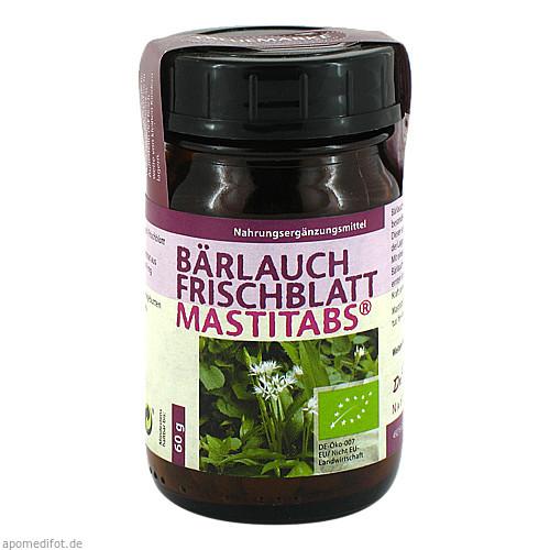 Bärlauch Frischblatt Mastitabs Dr. Pandalis, 160 ST, Dr. Pandalis GmbH & Co. KG Naturprodukte