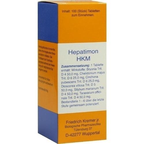 Hepatimon HKM, 100 ST, Firma Kremer GmbH & Co. KG