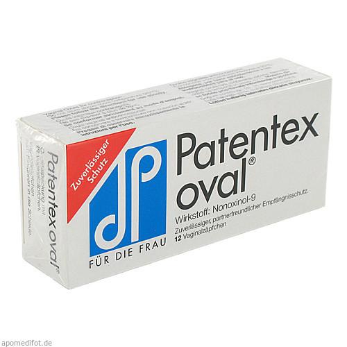 PATENTEX oval Ovula (12 ST) Preisvergleich
