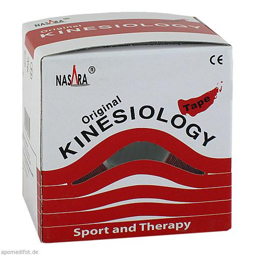NASARA Kinesiologie Tape Rot 5cmx5m, 1 ST, Jovita Pharma