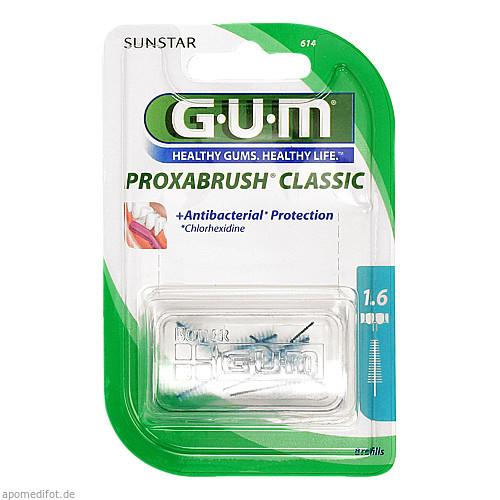 GUM PROXABRUSH Ersatzbürsten 0.7mm Tanne, 8 ST, Sunstar Deutschland GmbH