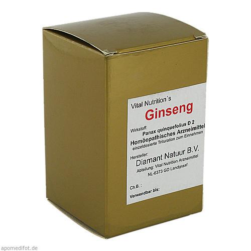 GINSENG KAPSELN, 60 ST, Vital Nutrition GmbH